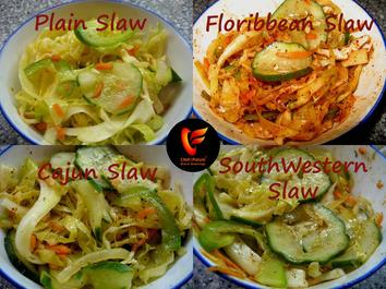 Four Slaws-Chef of the Future-Your Source for Quality Seasoning Rubs