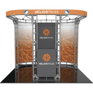 HELIOS ORBITAL EXPRESS TRUSS 10FT MODULAR EXHIBIT.