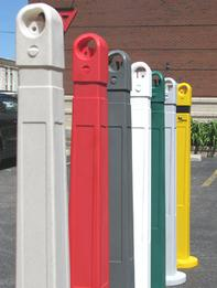 Versatile portable bollard has many uses