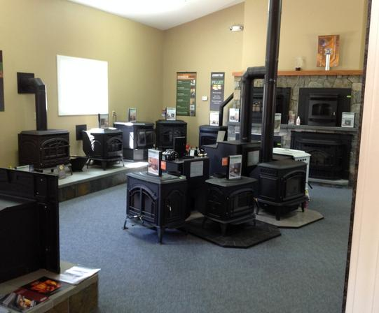 Alternative Heat Source showroom 1