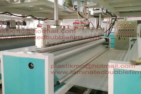 three meter bubble film machine