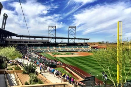 Spring training for baseball is a great way to spend your vacation