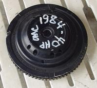 583012, 583911, 583696 Used flywheel for a 1984 Johnson 40 hp outboard, 583012, 583911, 583696
