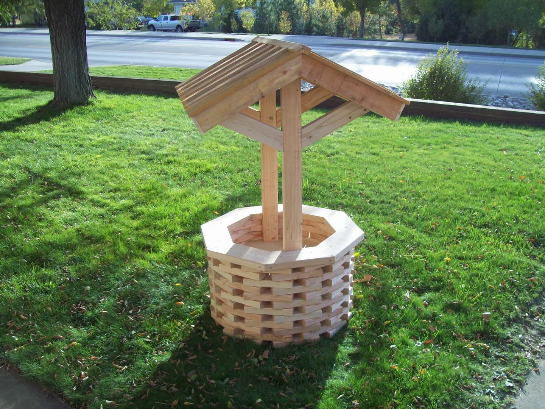 Wishing well lawn ornament - Lawn Patio Furniture D Cor