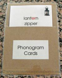 how to store Montessori language cards - montessori print shop