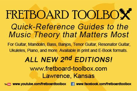 Music Theory Books - Fretboard Toolbox
