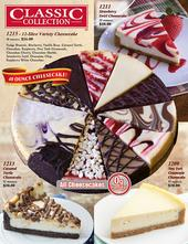 Classic Cheesecakes Fundraiser Brochure
