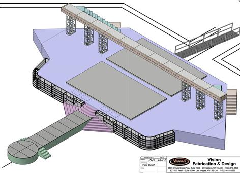 Rental Arena Stage Set 1 Msp