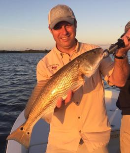 Catching a good sized Red Drum in Boca Grande, FL