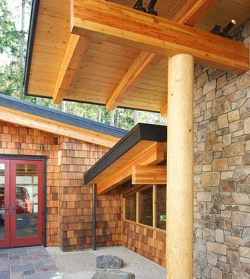 Western Red Cedar Tongue and Groove for Soffit