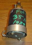 Used starter for a 1989 35 hp Force outboard. Part numbers F514955, 50-803900T