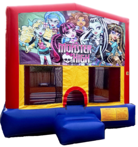 Module bounce house play and jump