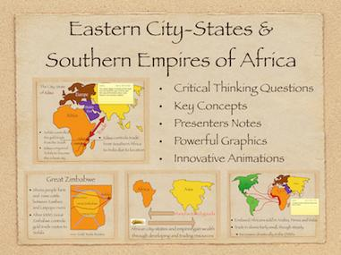 Eastern City States and Southern Empires of Africa History Presentation
