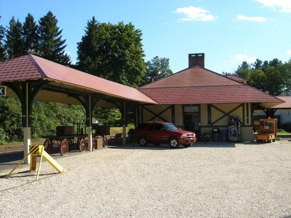 The Berkshire Scenic Railway Museum's Lenox Station.