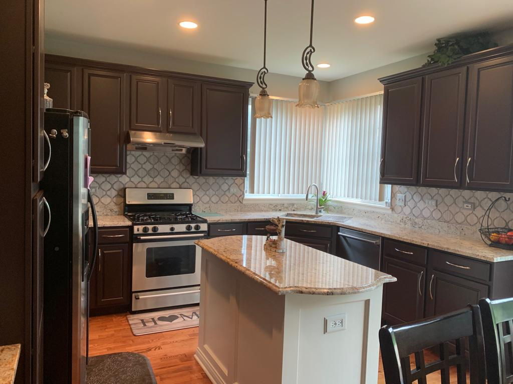Kitchen Cabinet Painting Kammes Colorworks Cabinet Refinishing Elburn Il