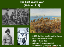 Gurkhas in the First World War