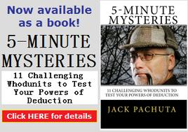 5-Minute Mysteries by Jack Pachuta