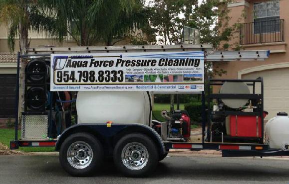 Aqua Force Pressure Cleaning Broward