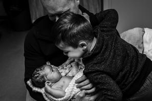 Newborn Photography captures tender moment in Aldergrove BC