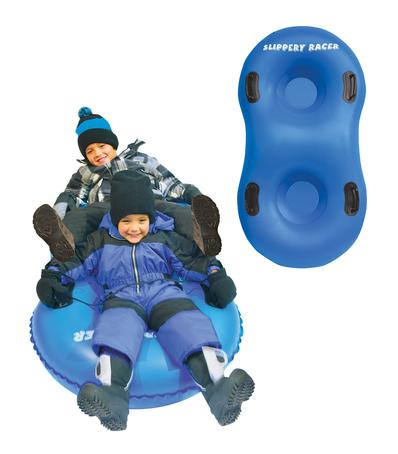 Inflatable Snow Tube AirDual by Slippery Racer