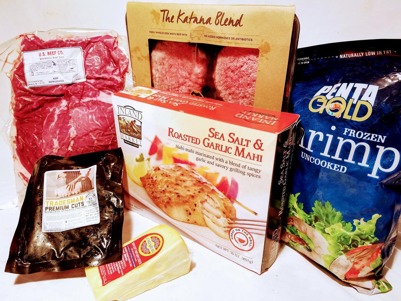 December Menu Jolin Food Box