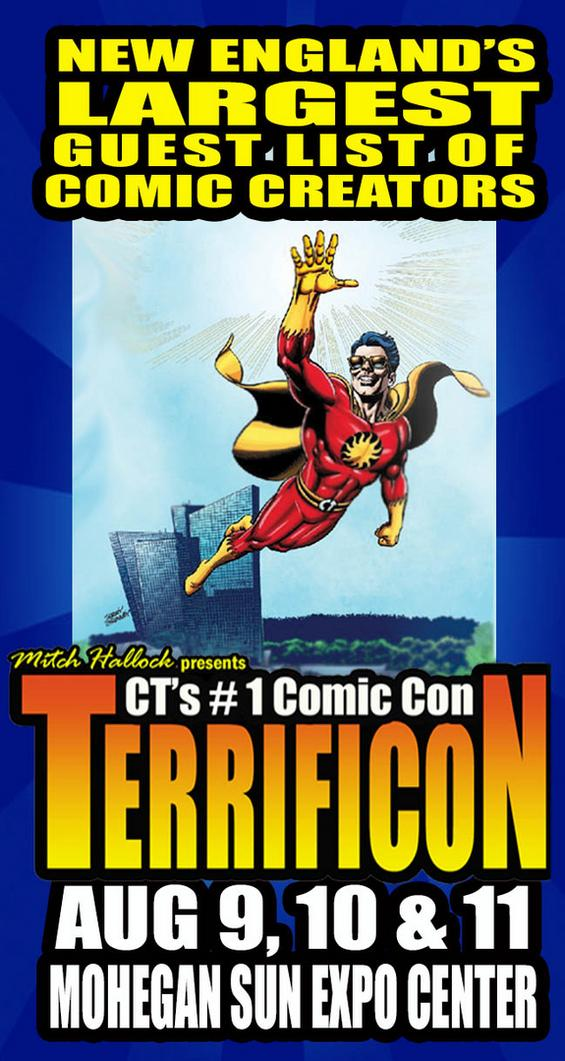 TERRIFICON CONNECTICUT'S COMICON
