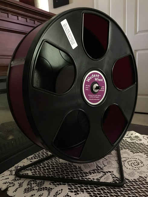 Wodent Wheel In Black/Burgundy