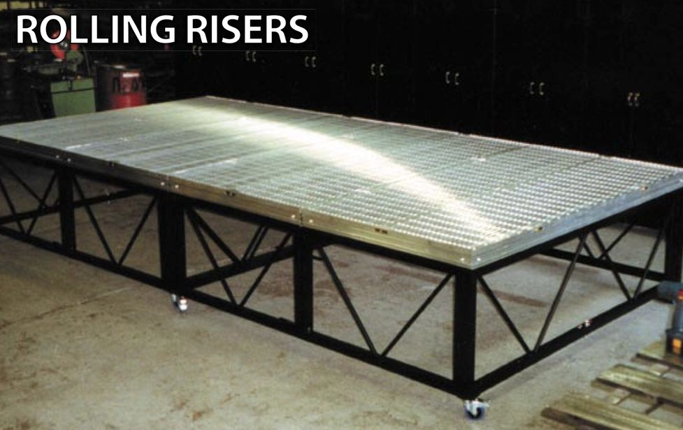 Rolling Riser Rental