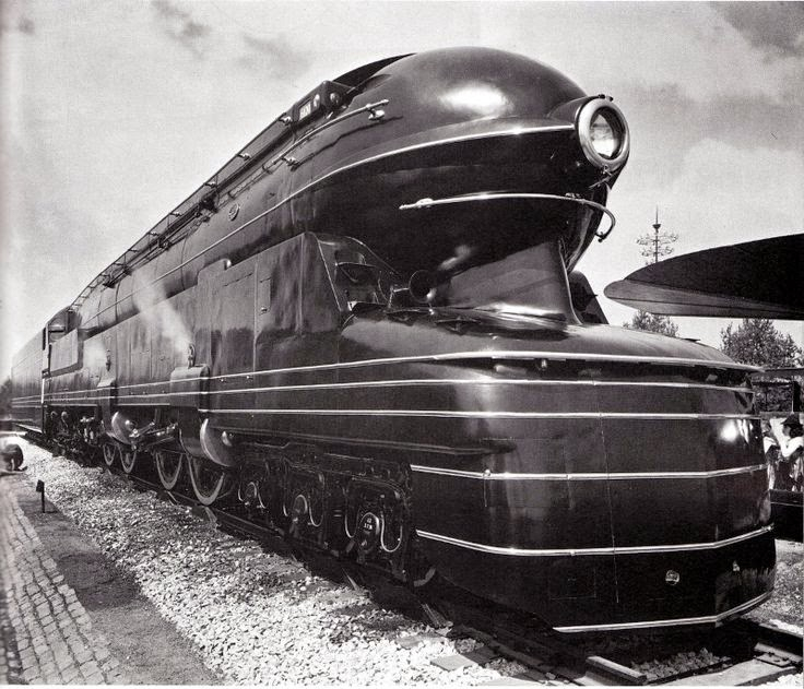 Pennsylvania Railroad S1 Duplex Steam Locomotive