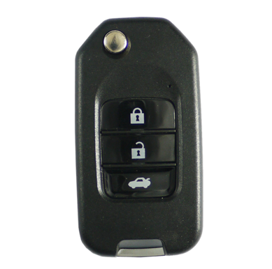 Remote flip key replacement for Mitsubishi