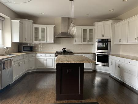 Kitchen Cabinet Refinishing and Painting, Sugar Grove
