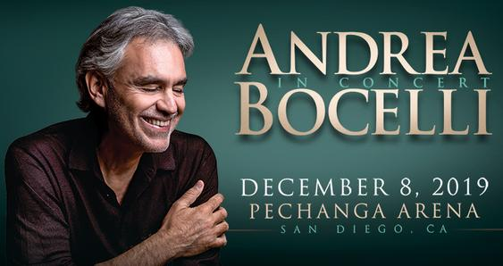 Andrea Bocelli Group Tickets