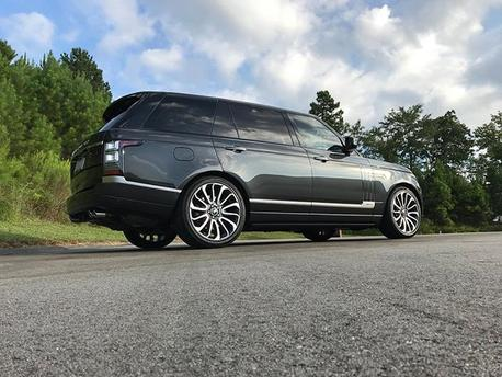 Range Rover, Ceramic Pro Silver Package, ATD Detailing Inc