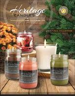Heritage Candles Fall Collection Candle Fundraiser