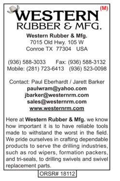 Western Rubber, Water Well Products