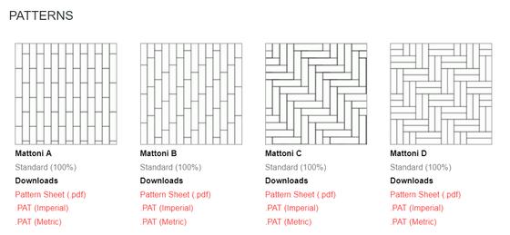 Mattoni Unilock Paver Patterns