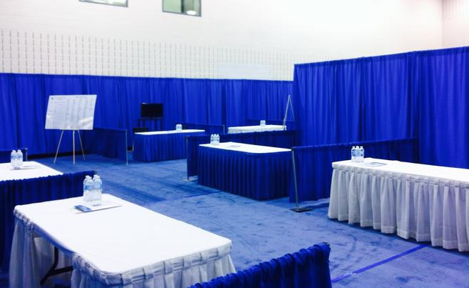 trade show booths drapery hahn rentals drapery booths