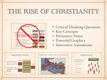 The Rise of Christianity History Presentation