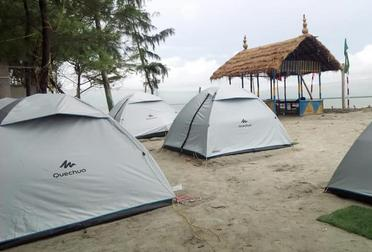 Dome Tent Accommodation Mousuni Island