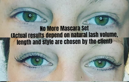 NO MORE MASCARA SET