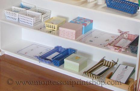 Montessori language materials - Montessori Print Shop