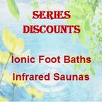 Ionic Foot Bath and Infrared Saunas in Ann Arbor