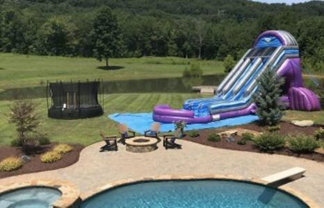 Chickamauga, GA, Giant Water Slide Rental