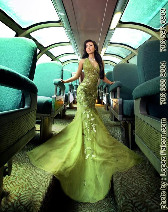 Quinces Dresses Miami Quinceanera Dress Train