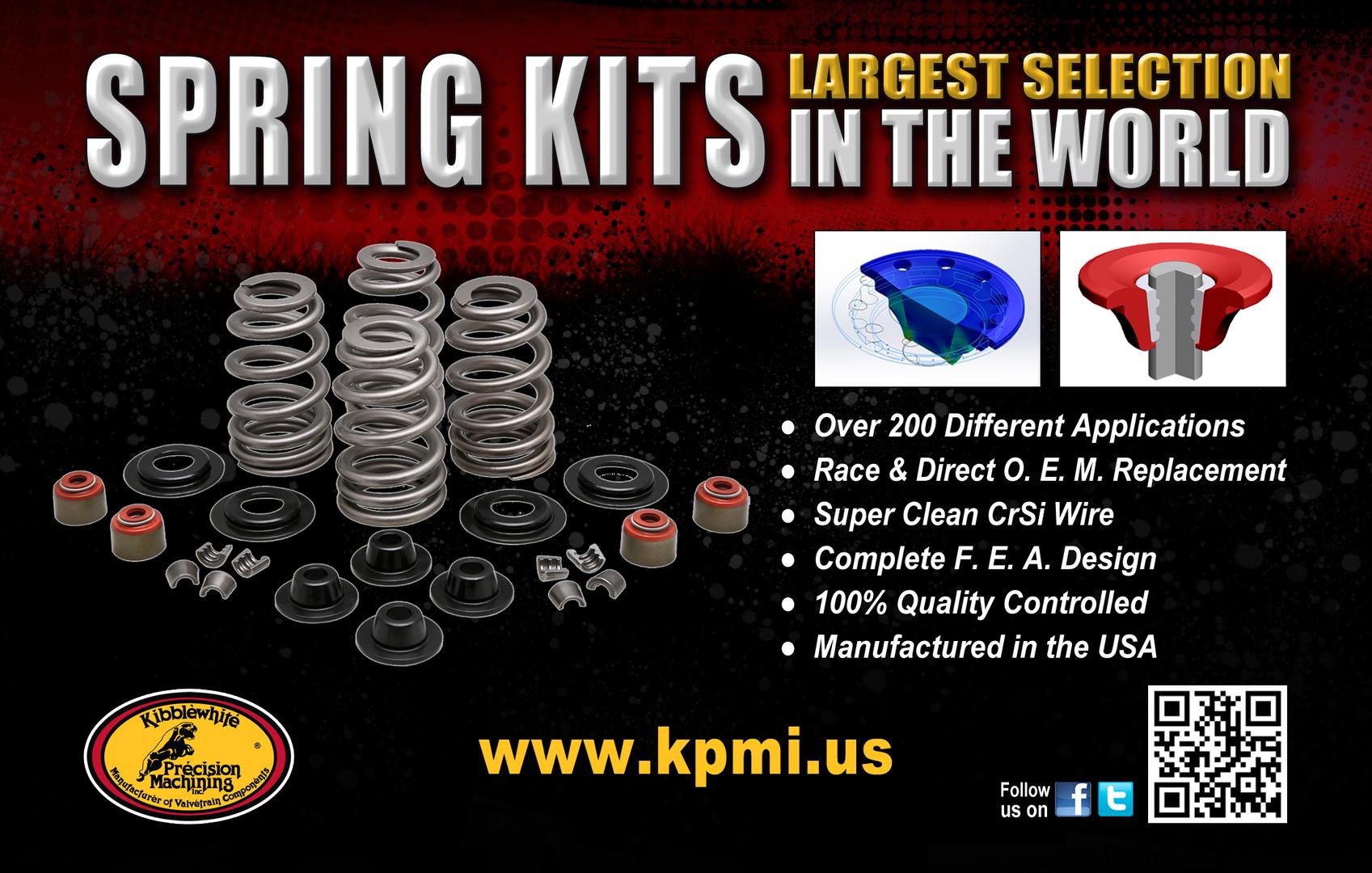 Kibblewhite Precision Machining Inc Motorcycle Valvetrain Custom 1974 Kawasaki H1 500 Wiring Diagram Work