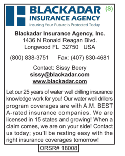 Blackadar Insurance Agency, Insurance