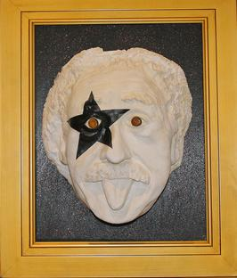 Sarcastic Albert Einstein Sculpture