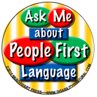 Image result for person first language