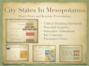 City States In Mesopotamia World History Presentation