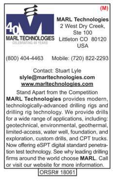 Rigs, Marl Technologies